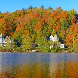 Fall Foliage on the lake